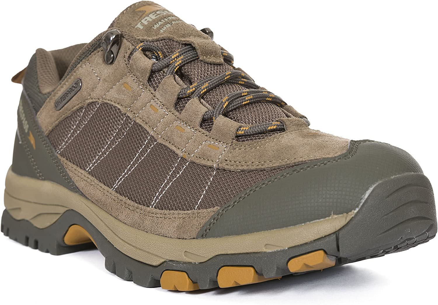 Trespass Scarp Mens Approach Suede Lace Up Hiking shoes Walking Trainers