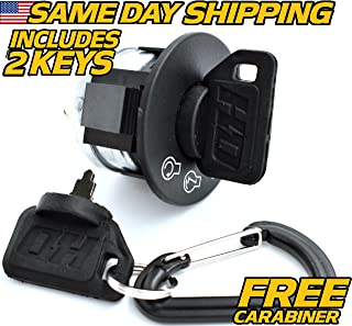 Ariens Gravely Starter Ignition Key Switch Zoom 34 42 50 1434 1534 1540 1634 1640 1740 1744 1840 1842 1844 w/ 2 Umbrella Keys, HD Switch