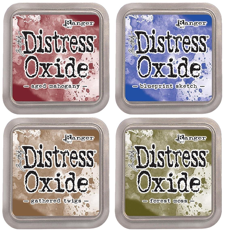 Tim Holtz Ranger Distress Oxide Ink Bundle C - Four 3