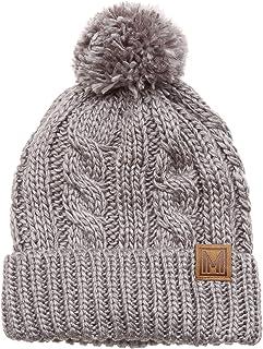 قبعة أطفال MIRMARU للأولاد والبنات في فصل الشتاء ناعمة ودافئة ومصنوعة من الصوف
