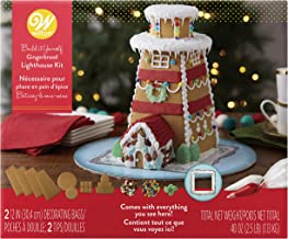 Wilton Build-it-Yourself Gingerbread Lighthouse Decorating Kit