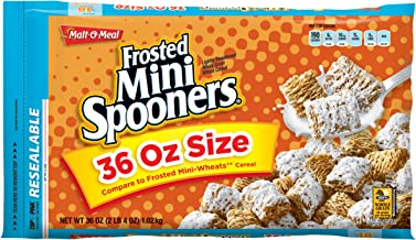 Malt-O-Meal Frosted Mini Spooners Cereal 36 oz. ZIP-PAK (Pack of 8)