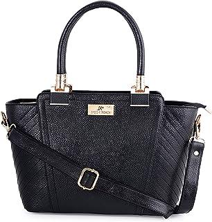 Speed X Fashion Genuine Leather Handbag|Sling Bag|Padded Laptop Compartment|Office Bag| (L=13,B=5,H=8 inch) SB001