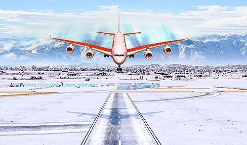 『Snow Cargo Jet Landing 3D』の3枚目の画像