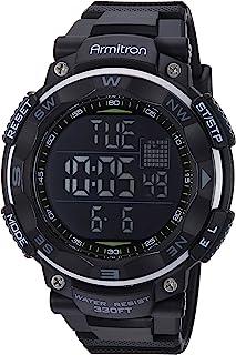 ساعة رياضية للرجال من ارمترون بسوار من البلاستيك المطاطي 40/8254