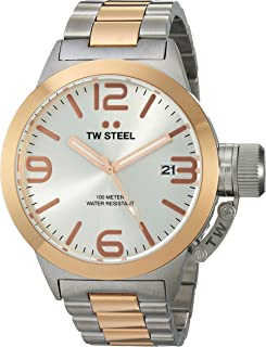 TW Steel Men's CB121 Analog Display Quartz Two Tone Watch