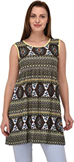 Espresso Women's Printed Bodycon Dress - Yellow.