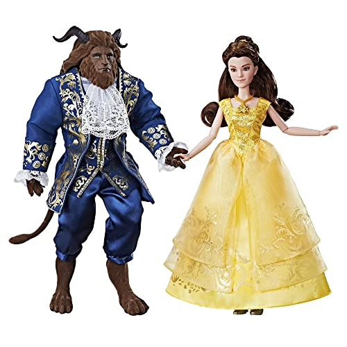 """Disney Store Belle w// Chip Figure 12/"""" Beauty and the Beast Toy Doll New in Box"""