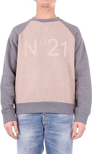 N°21 Luxury mode Homme N1M0E0416368BEIGE Beige Sweatshirt   Saison Outlet