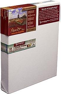 "Masterpiece Artist Canvas 43802 Monet PRO 1-1/2"" Deep, 4"" x 5"", Cotton 14.0oz - 3X - Sausalito Heavy Weight"