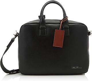 Calvin Klein - Ck Bombe' Laptop Bag, Bolsas para portátil Hombre, Negro (Blackwhite Black), 1x1x1 cm (W x H L)