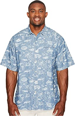 Tommy Bahama Big & Tall Big & Tall Marlin Party Camp Shirt