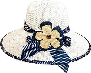 Hotaru Chapeau de chapeau de soleil de paille de chapeau de chapeau de chapeau de chapeau de noir et blanc HAT002
