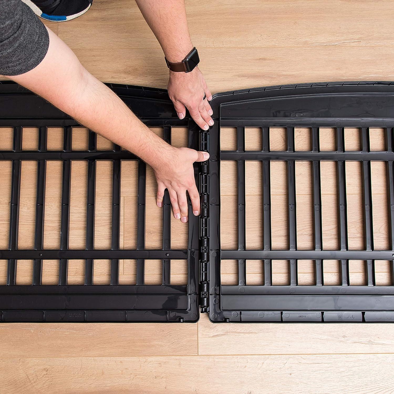 Black IRIS 24 6 Panel Exercise Pet Playpen with Door