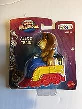 World of Madagascar Movie Exclusive Mini Alex In Train