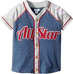 Mud Pie - All Star Button Down Short Sleeve Shirt (Infant/Toddler)