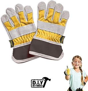 Stanley Jr. T014-SY rękawice robocze dla dzieci, żółto-czarne