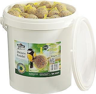 Dehner 3079324 Natura Karma dla Dzikich Ptaków Kule Smalcowe z Siatką, 100 Sztuk/10 kg