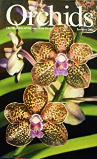 Orchids; The Magazine of the American Orchid Society, January 2001 (Vol. 70, No. 1)