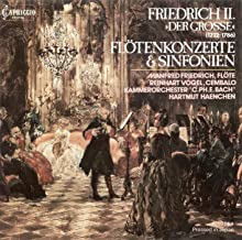 Frederick Ii: Sinfonias / Flute Concertos