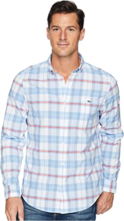 Cape Poge Plaid Slim Tucker Shirt