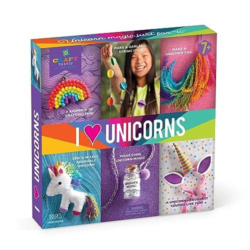 Craft-tastic – I Love Unicorns Kit – Craft Kit Includes 6 Unicorn-Themed