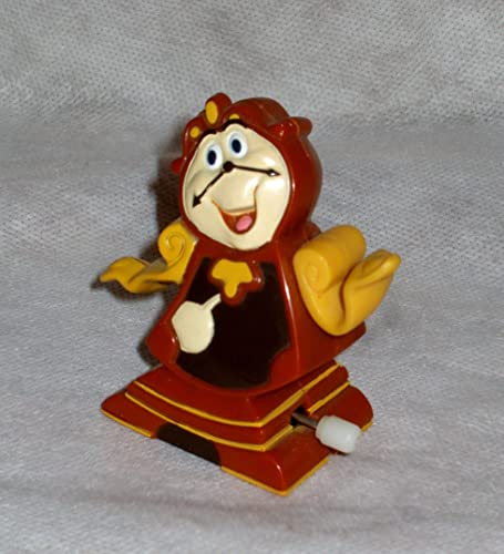 Burger King Disney's Beauty & Beast Cogsworth the Clock Wind-up Kids' Club Meal Toy by Disney