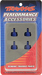 Traxxas 3767A Blue-Anodized Aluminum Shock Caps (fits Ultra Shocks) (set of four)