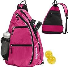 Athletico Sling Bag – Crossbody Backpack for Pickleball, Tennis, Racketball, and..