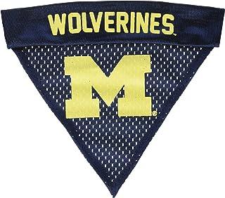 طوق باندانا بشعار فريق ميشيغان وولفيرينز بالرابطة الوطنية لرياضة الجامعات (NCAA) من بت جودز، مقاس واحد