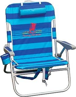 Tommy Bahama Big Boy Backpack Chair - Blue Stripe