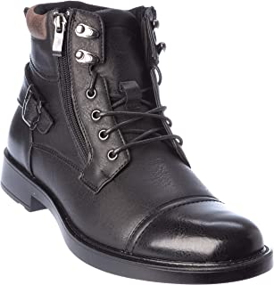 shela02 Mens Western Style Boots Dress-Shoes