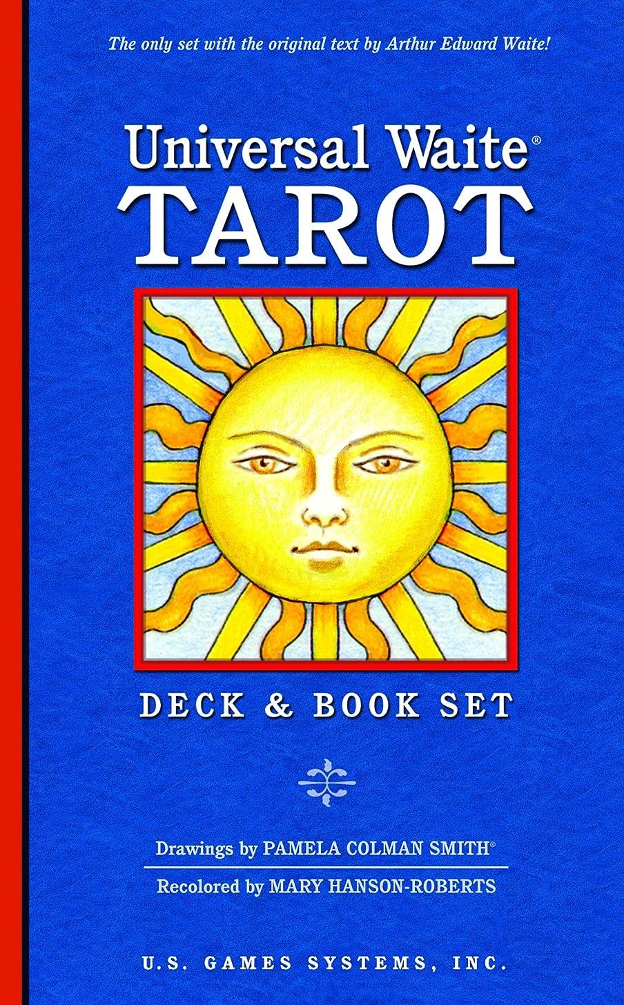 Universal Waite Tarot Deck and Book Set