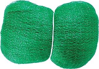 Connex fågelskyddsnät 5 x 4 m – grön – 10 x 10 mm maskbredd – vikt 6 g/m² – robust tyg – tillförlitligt skydd mot fågelnöt...
