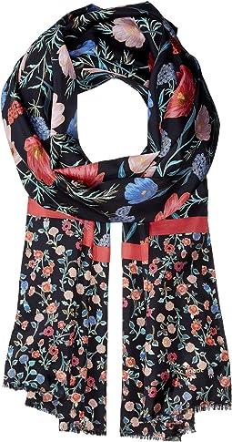 Kate Spade New York - Blossom Silk Oblong