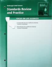 Science Standards Review and Practice Book Life Science Grade 7: Mcdougal Littell Science California