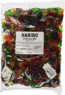 Haribo Gummi Candy, Dinosaurs, 5 Pound