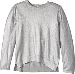 Jewel High-Low Foil Sweater (Toddler/Little Kids/Big Kids)