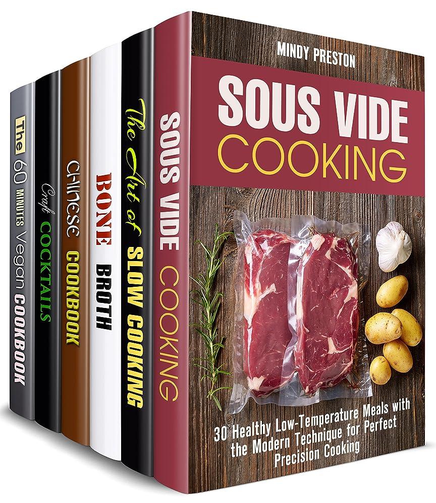 ほとんどの場合まつげ固有のStylish Cooking Box Set (6 in 1): Over 180 Sous Vide, Slow Cooker, Vegan, Soup, Chinese Recipes and Cocktails (Modern Meals Book 2) (English Edition)