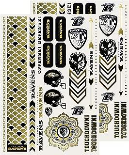 NFL Metallic Tattoos