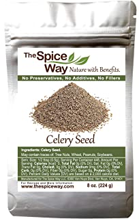 Sponsored Ad - The Spice Way Celery Seed - premium whole seeds 8 oz