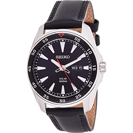 Seiko Men's Analogue Manual Watch with Textile Strap – SNE393P2