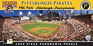 MasterPieces MLB Pittsburgh Pirates Stadium Panoramic Jigsaw Puzzle, PNC Park, 1000 Pieces