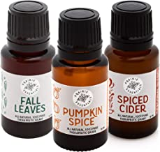 Autumn Comforts Blends 3-Pack, 15ml Bottles: Fall Leaves, Pumpkin Spice, Spiced Cider (Autumn Comforts Blends 3-Pack)