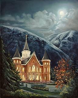 Best lds temple oil paintings Reviews