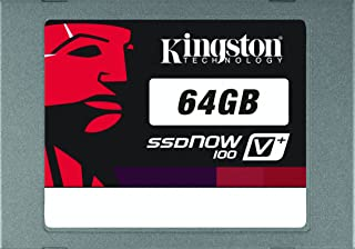 Kingston 64 GB SSD Now V+100 SATA 2 3.0 Gb-s 2.5-Inch Solid State Drive SVP100S2/64G