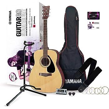 YAMAHA GuitarGo, Set para principiantes y para aquellos que quieran retomarlo, incluye cuerdas, púas, funda, diapasón, atril y mucho más