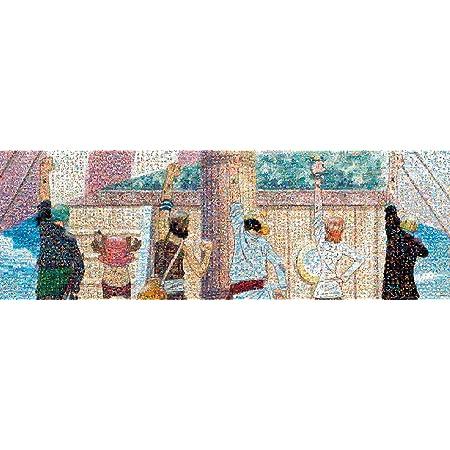 エンスカイ 950ピース ジグソーパズル ワンピース モザイクアート (仲間の印) (34x102cm)