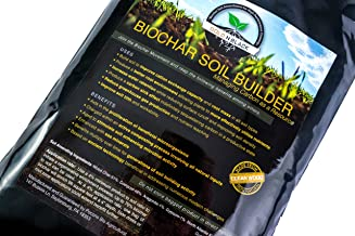 Gold N Black Biochar Soil Amendment by Pocono Bio Ag, Builds deep Rich Soil Supporting Microbial Life and fungal Activity Using Carbon, enhances Nutrient Density Through Mineralization and biomimicry