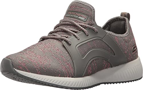Skechers BOBS BOBS Wohommes Bobs Squad-Glossy Finish Fashion paniers, Dark Taupe, 8.5 M US  réductions et plus